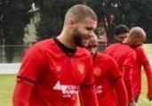 Leão aprimora bolas paradas para duelo contra o Coxa   Divulgação   EC Vitória