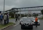 Vacina: motoristas de aplicativo protestam por inclusão | Reprodução | TV Bahia