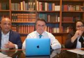 Ida para partido está bastante avançada, diz Bolsonaro | Reprodução | Youtube