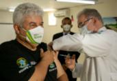 Queiroga vacina ministros e presidente da Caixa | Myke Sena | MS