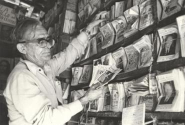 A TARDE Memória destaca a batalha de Rodolfo Cavalcante em defesa da poesia popular | Data: 11/5/1977. Foto: Cedoc A TARDE