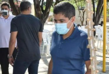 O ex-prefeito de Salvador e virtual candidato ao governo do estado em 2022 visitou um projeto de irrigação em Guanambi | Foto: Divulgação - Divulgação