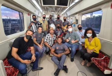 Banda Agentes do Metrô e Léo Estakazero gravam clipes em homenagem ao São João | Divulgação | CCR