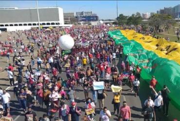 Manifestantes fazem atos contra governo Bolsonaro em diversas cidades do país | Reprodução: Jornalistas Livres