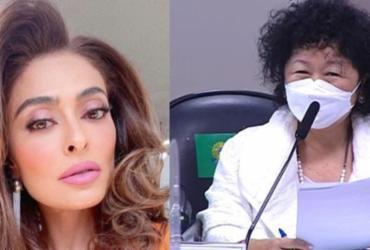 Atriz Juliana Paes é criticada por seguidores após defender médica Nise Yamaguchi | Reprodução | Instagram | Divulgação