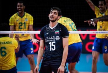 Brasil supera Irã e segue líder na Liga das Nações de vôlei masculino | Divulgação | FIVB