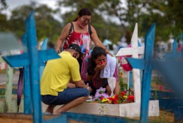 Covid-19: Brasil registra 17,2 milhões de casos e 484,2 mil mortes | Michael Dantas | AFP