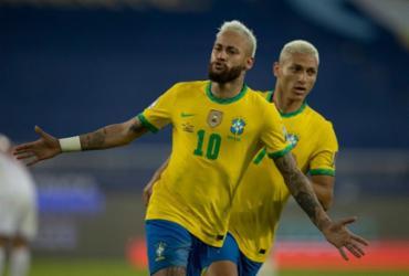 Sem dificuldades, Brasil goleia o Peru e segue líder na Copa América | Lucas Figueiredo | CBF
