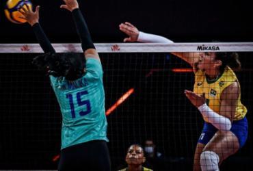 Vôlei: Brasil vence Tailândia na Liga das Nações e fica na vice-liderança | Divulgação | FIVB