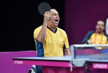 Brasileiros lutam por últimas vagas do tênis de mesa na Paralimpíada   Douglas Magnum   CPB