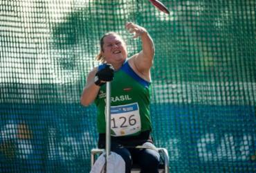 Brasileira quebra recorde mundial do disco em seletiva paralímpica | Alê Cabral | CPB