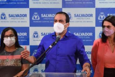 Bruno Reis avalia momento da pandemia em Salvador e comemora queda de casos | Valter Pontes | Divulgação