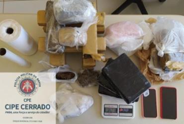 Casal é preso com mais de 15 kg de drogas em Luís Eduardo Magalhães