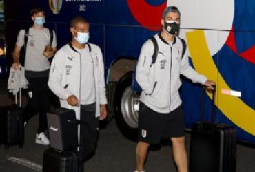 Segurança do Uruguai na Copa América é preso por assediar brasileira   AUF   Divulgação