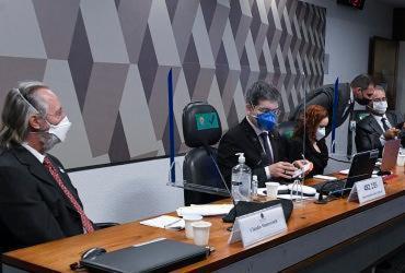 CPI da Covid ouve cientista Natalia Pasternak e sanitarista Cláudio Maierovitch | Jefferson Rudy I Agência Senado