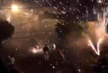 """Polícia interrompe mais uma """"guerra de espadas"""" em Cruz das Almas"""