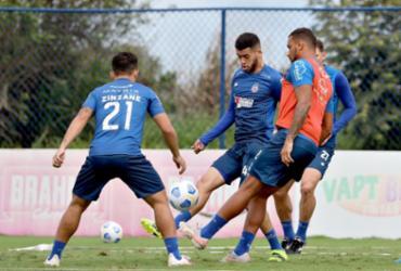 Bahia realiza último treino em Salvador antes de embarque para Fortaleza | Felipe Oliveira | EC Bahia