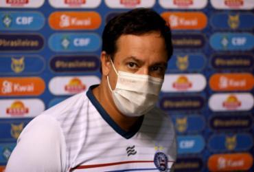 Dado admite má atuação do Bahia, mas ironiza pênalti marcado para o Internacional | Felipe Oliveira | EC Bahia