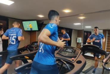 Bahia treina em hotel antes de voltar para Salvador | Divulgação | EC Bahia