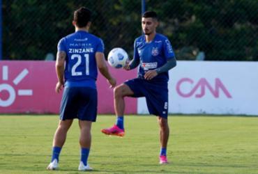 Com treino técnico, Bahia segue preparação para encarar o Internacional |