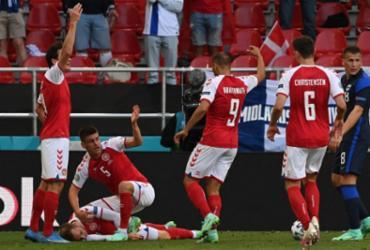 Eriksen sofre mal súbito em campo pela Euro; Quadro é estável | Jonathan Nackstrand | AFP