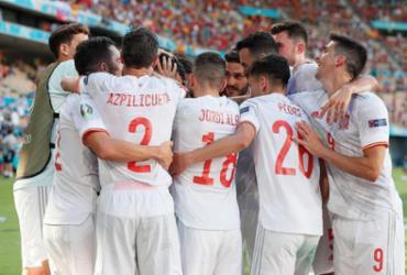 Espanha goleia Eslováquia e vai às oitavas como segundo do Grupo E da Eurocopa |