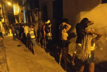 Polícia encerra festa paredão com cerca de 150 pessoas em Lauro de Freitas