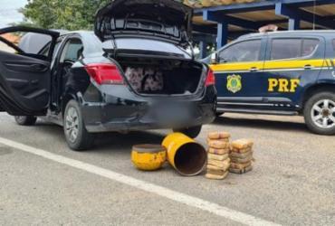 Homem é preso com maconha escondida dentro em cilindro de gás na BR-116