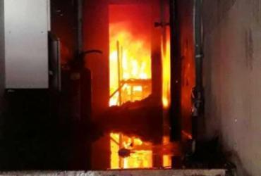 Cruz das Almas: incêndio em fábrica de estofados é controlado por bombeiros