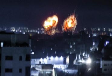 Israel lança ataques aéreos contra a Faixa de Gaza | Mahmud Hams | AFP