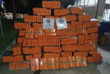 Polícia apreende mais de uma tonelada de maconha em Itabuna | Divulgação: SSP