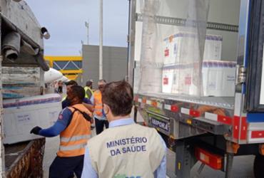 Novo lote com 300 mil doses da vacina da Janssen chega ao Brasil | Divulgação | Ministério da Saúde