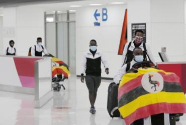 Atleta de Uganda testa positivo para Covid-19 ao chegar em Tóquio | Reprodução | Euronews
