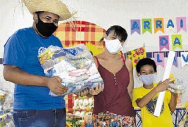Campanha busca doações para famílias necessitadas | LBV | Divulgação