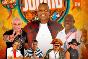 Live de Samba Junino reúne grandes nomes da música baiana |