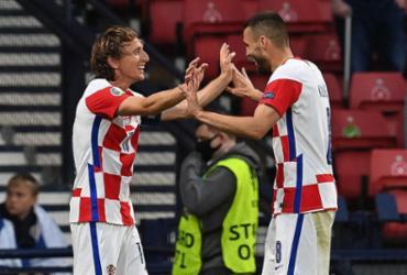 Croácia vence Escócia e avança às oitavas da Eurocopa | Paul Ellis | AFP