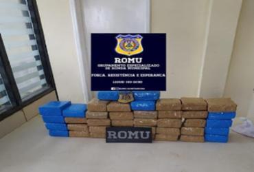 Itabuna: 39 tabletes de maconha são apreendidos pela Guarda Civil