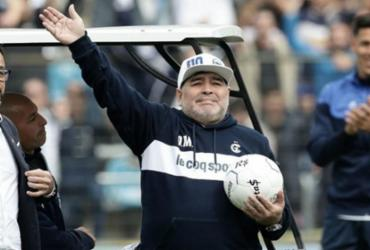 Primeiro suspeito da morte de Maradona, enfermeiro depõe ao Ministério Público na Argentina | AFP