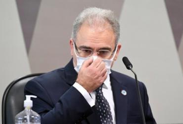 Queiroga diz não pressionar técnicos por estudo sobre uso de máscaras | Jefferson Rudy I Agência Brasil