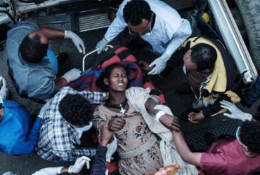 Ataque a mercado etíope deixa 64 mortos e 180 feridos | Yasuyoshi Chiba | AFP