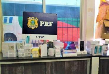 Barreiras: PRF apreende carga de celulares e eletrônicos avaliada em R$150 mil | Divulgação | PRF