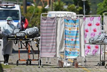 Covid-19: Brasil registra 6,2 mil novos casos e 187 óbitos | Michael Dantas | AFP