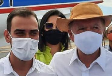 Em encontro com Rui após filiação ao PP, prefeito de LEM recebe elogio de João Leão: 'Um trator' | Reprodução I Instagram