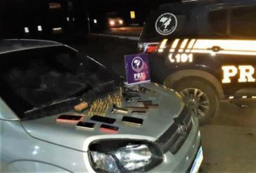 Cinco homens são presos com armas, munição e veículo roubado em Itabuna | DIvulgação | PRF