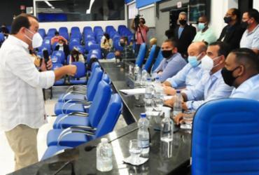 Incentivos para indústria química serão mantidos por mais 4 anos, avaliam Geraldo Jr. e Júnior Borges | Divulgação