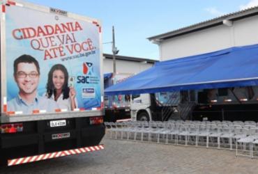 SAC Móvel permanece em Camaçari até esta sexta-feira