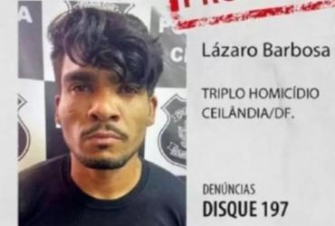 'Espero que ele se entregue', diz mulher de serial killer baiano procurado no DF | Divulgação | PMDF