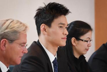 Nadador chinês tricampeão olímpico é suspenso por destruir exame antidoping |