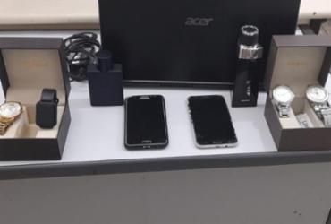Suspeito de furtar celulares e perfumes é preso em Teixeira de Freitas