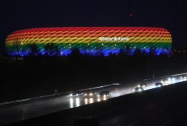 Uefa rejeita iluminação com as cores do arco-íris em estádio de Munique para Eurocopa |